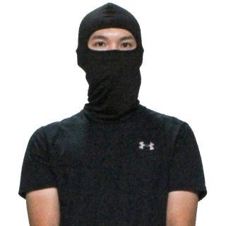 【OMAX】多用途萊卡彈性吸汗透氣頭套面罩-2入(顏色隨機)