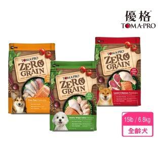 【TOMA-PRO 優格】天然零穀食譜《羊肉鮭魚/五種魚晶亮護毛/室內犬體重管理》狗糧 15LB