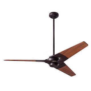 【The Modern Fan】52吋Torsion拓森三葉吊管式吊扇 黑/胡桃木葉片(華燈市全台總經銷)