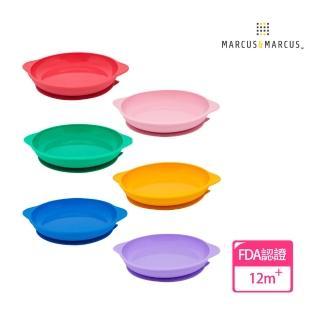 【MARCUS&MARCUS】動物樂園幼兒學習吸力餐盤(多款任選)