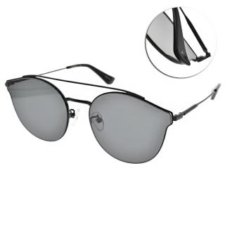【PAUL HUEMAN】韓系潮流貓眼款眼鏡(黑-藍鏡片#PHS910A C05)