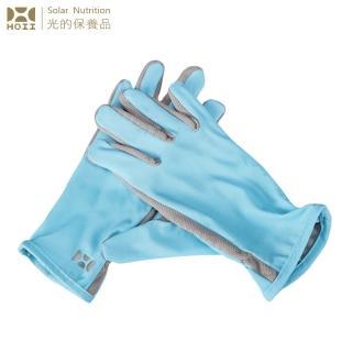 【HOII后益】HOII后益 手套 ★藍光(UPF50+抗UV防曬涼感先進光學機能布)