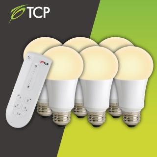 【TCP】遙控照明燈泡組(1搭6顆黃光)
