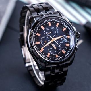 【CITIZEN 星辰】CITIZEN Eco-Drive 至尊榮耀光動能電波腕錶(AT9039-51L)
