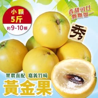 【WANG 蔬果】台灣嚴選黃金果(5斤±10%含箱重)
