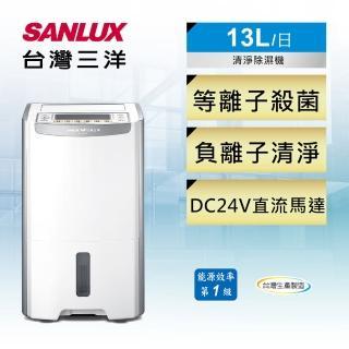【SANLUX 台灣三洋】13公升一級能效除濕機(SDH-130LD)