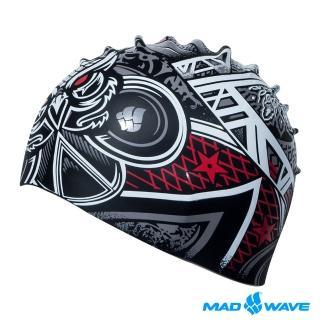【MADWAVE】矽膠泳帽 GOTHIC(優質矽膠 舒適防水 男女適用)