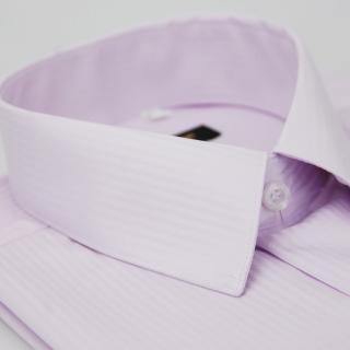 【金安德森】粉色暗紋吸排長袖襯衫-fast