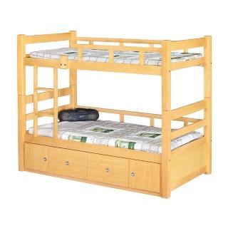 【H&D】白楓木3.7尺雙層床(3.7尺 床架 雙層床架)
