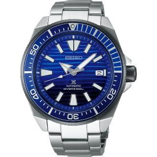 【SEIKO 精工】Prospex 200米潛水愛海洋藍鯨機械錶-45mm(4R35-01X0B  SRPC93J1)