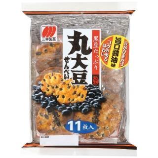 【三幸製果】丸大豆仙貝137.5g 黑豆