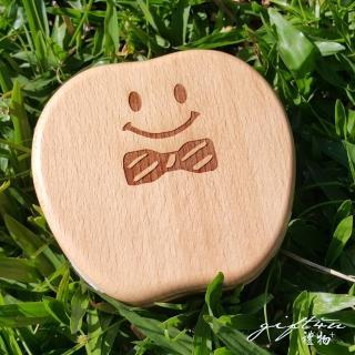 【gift4U 禮物+】台灣客製刻名兒童乳牙保存盒 小紳士(乳牙盒 乳齒盒 兒童禮 小學生 成長紀念)