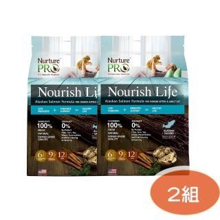 【NurturePRO 天然密碼】室內小貓&成貓阿拉斯加鮭魚1.8kg(兩包組)