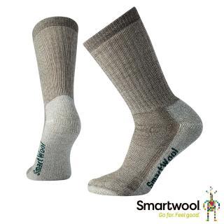 【SmartWool】女中級減震型徒步中長襪(灰褐)