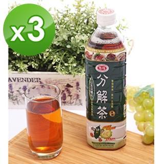 【愛之味】分解茶1000mlx3箱(共36入)