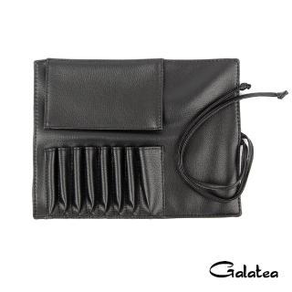 【Galatea葛拉蒂】8孔短柄刷具收納皮套