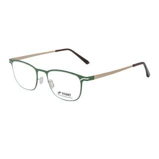 【VIVANT】強勢來襲 江南奢侈品牌金屬矩形光學眼鏡(綠 CARRE Green)