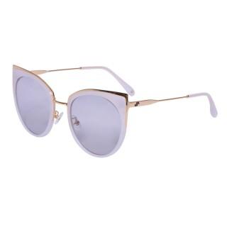 【VIVANT】愛戀系列金屬貓眼太陽眼鏡.牛奶白 AMOUR C4