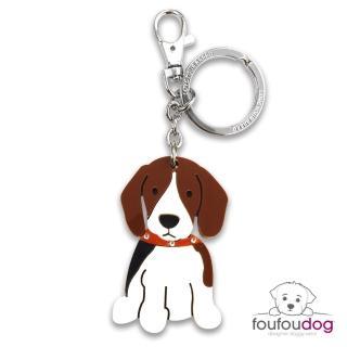 【加拿大 foufou】鑰匙圈- 小獵犬 BEAGLE(比格犬)
