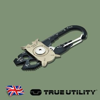 【TRUE UTILITY】英國多功能20合1鑰匙圈工具組FIXR(20合1鑰匙圈工具組)