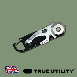 【TRUE UTILITY】英國多功能14合1鑰匙圈工具組DAWG(14合1鑰匙圈工具組)