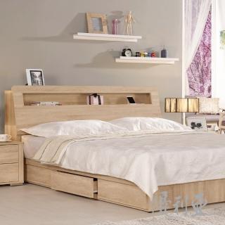 【優利亞】格瑞絲簡約 雙人5尺床頭箱(不含床墊)