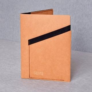 【俬品創意】護照夾_時尚駝