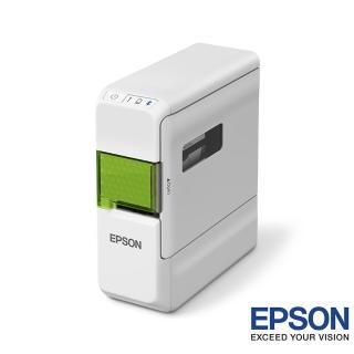 【EPSON】LW-C410文創風家用藍芽手寫標籤機+黃底黑字/12mm