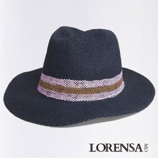 【Lorensa蘿芮】自信風采個性遮陽紳士禮帽(中性款)
