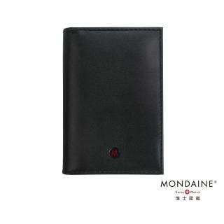 【MONDAINE 瑞士國鐵】極簡系列豪華型名片夾