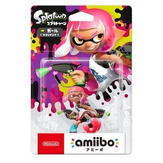 【Nintendo 任天堂】amiibo公仔 女孩(漆彈大作戰2系列)