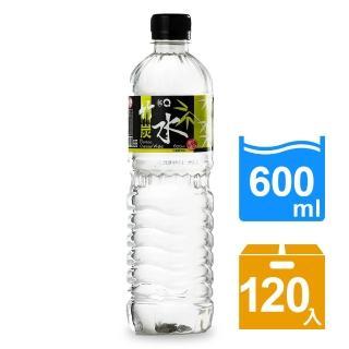 【3Q】竹碳水600mlx5箱(120入)