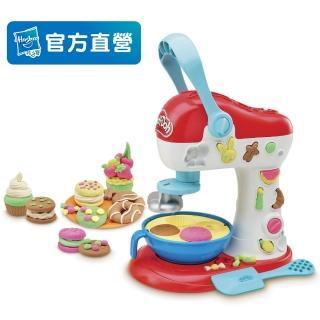 【培樂多】廚房系列無毒轉轉蛋糕遊戲組(附5罐黏土)