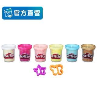 【PLAYDOH 培樂多】補充罐系列(無毒 紙花黏土補充罐 B3423)