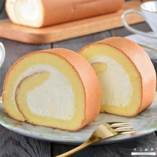 【不二緻果】真乳捲-原味(一口品嚐北海道十勝鮮奶油的綿密滑順)