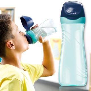【法國Maped】無吸管兒童直飲水瓶580ml-聰明藍
