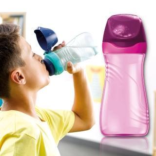 【法國Maped】無吸管兒童直飲水瓶430ml-熱情紫