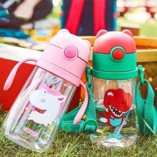 【BEDDY BEAR 杯具熊】韓國BEDDYBEAR 動物兒童學飲杯 兒童水壺(tritan 380ml)