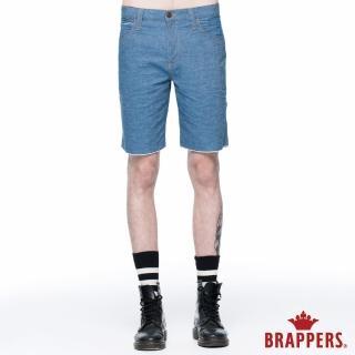【BRAPPERS】男款 HM中腰系列-五分褲(淺藍)