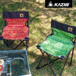 【KAZMI】KAZMI 經典民族風輕巧折疊椅