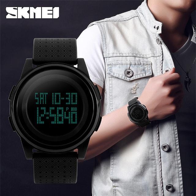 【SKMEI時刻美】運動防水電子錶(學生錶