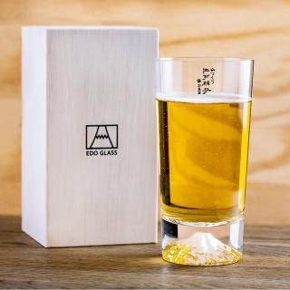 【田島硝子】日本手工吹製富士山啤酒杯(TG15-015-T)