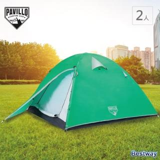 【Pavillo】Glacier Ridge 冰川嶺 2人(露營 快速搭建 家庭適用 紗網 遮蔽帆)