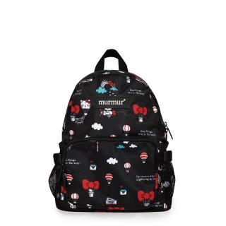 【murmur】旅遊收納後背包 / Hello Kitty熱氣球-兒童後背包(環保袋.收納.旅行袋.後背包)