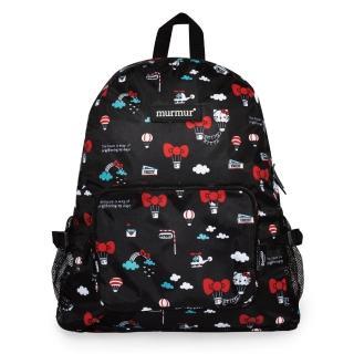 【murmur】旅遊收納後背包 / Hello Kitty熱氣球(環保袋.收納.旅行袋.後背包)