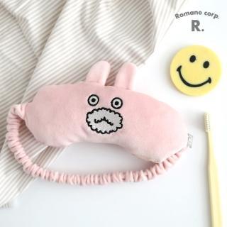 【Romane】Brunch Brother Pom Pom 睡眠眼罩 - Brunch兔