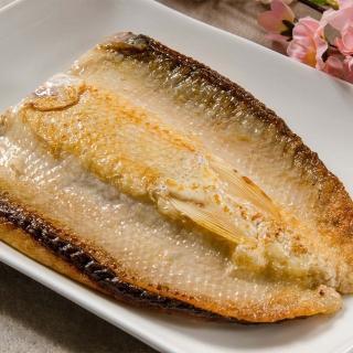【鮮綠生活】台南老饕XXL去刺虱目魚肚增量版(300g/片 共8片)