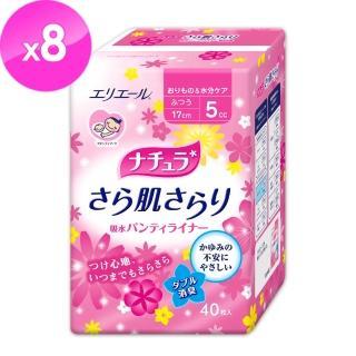 【日本大王】Natura極淨清爽護墊_防漏尿用_普通型5ml/40片(8包重量組)