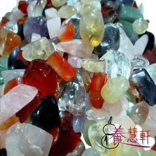 【養慧軒】天然五行水晶碎石 1000公克 優惠組(粗顆粒)