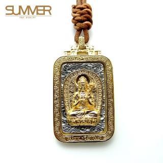 【SUMMER寶石】佛牌純銀項鍊(SB050)